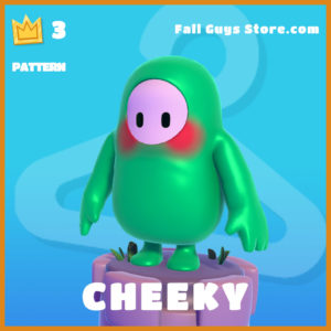 Cheeky Pattern Fall Guys Skin