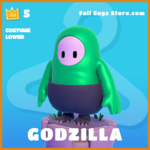 Godzilla Costume Lower Fall Guys Skin
