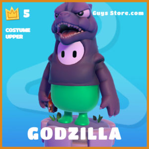 Godzilla Costume Upper Fall Guys Skin