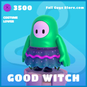 Good Witch Fall Guys Skin Costume Lower