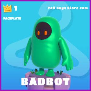 Badbot Faceplate Epic Fall guys item