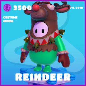 Reindeer Costume Upper Fall Guys Christmas Skin