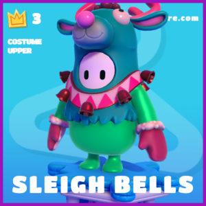 Sleigh Bells Costume Upper Fall Guys Christmas Skin