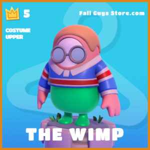 The Wimp Costume Upper Fall Guys