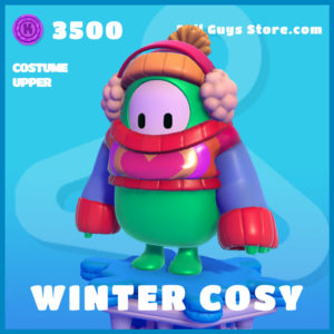 Winter Cosy Fall Guys Skin Costume Upper