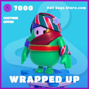 wrapped up costume upper fall guys epic skin
