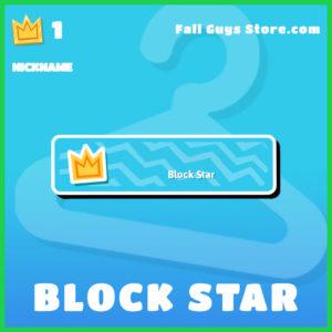 block star nickname fall guys