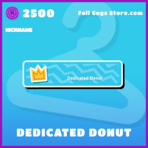 dedicated donut fall guys nickname