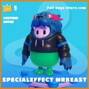 SpecialEffect MrBeast Costume Upper Fall Guys Skin