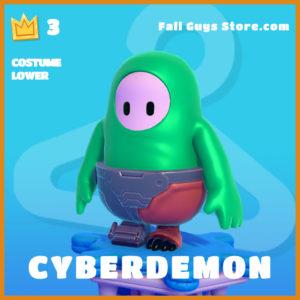 Cyberdemon costume lower fall guys skin legendary