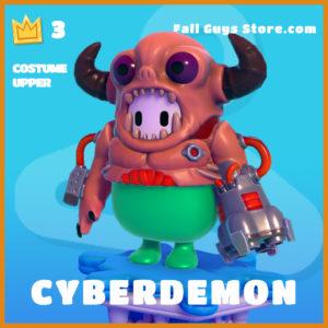 Cyberdemon costume upper fall guys skin legendary