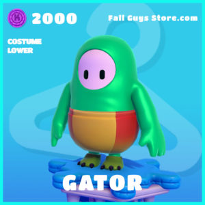 Gator Costume Lower Fall Guys Skin