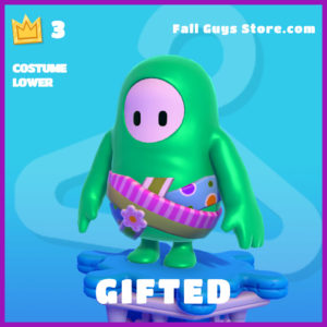 Gifted Costume Lower Fall Guys SKin