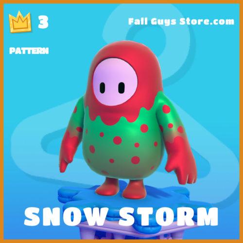 Snow-Storm-Pattern