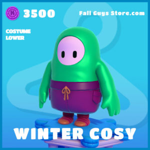 Winter Cosy Costume Lower Fall Guys skin