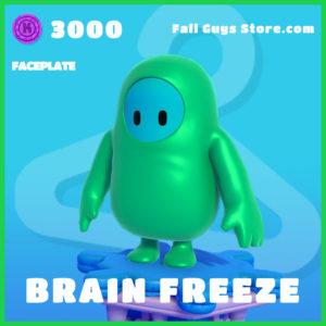 Brain Freeze Faceplate Rare Fall guys item
