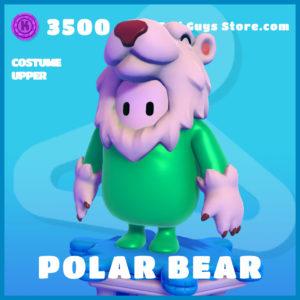 polar bear costume upper uncommon fall guys skin