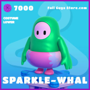 sparkle-whal costume lower fall guys skin epic