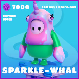 sparkle-whal costume upper fall guys skin epic