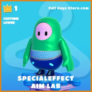 specialeffect aim lab costume lower fall guys skin epic