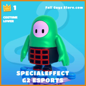 SpecialEffect g2 Esports Costume Lower Fall Guys Skin