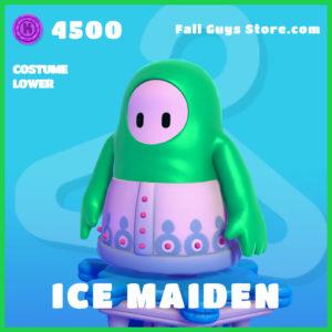 Ice Maiden Fall Guys Costume Lower Skin