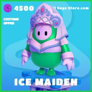 Ice Maiden Fall Guys Costume Upper Skin