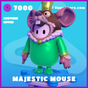 Majestic Mouse Upper Fall Guys Epic Skin