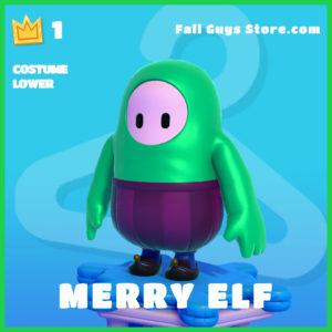 Merry Elf Fall Guys Costume Lower Skin