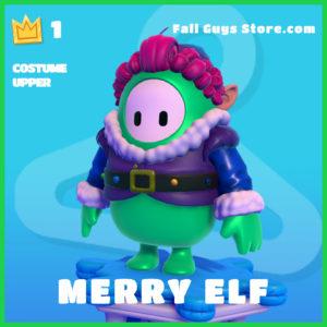 Merry Elf Fall Guys Costume Upper Skin