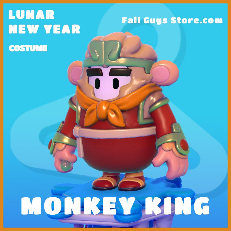 Monkey King Costume Set Fall guys legendary lunar new year skin
