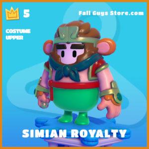 Simian Royalty Upper Fall Guys Legendary Skin
