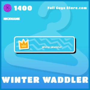 Winter Waddler Fall Guys Nickname