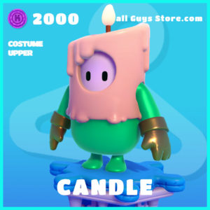 candle  costume upper common fall guys skin