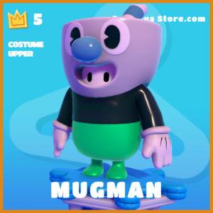 mugman costume upper legendary fall guys skin