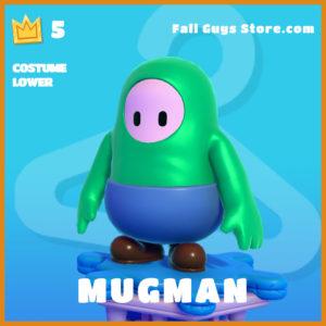 mugman costume Lower legendary fall guys skin