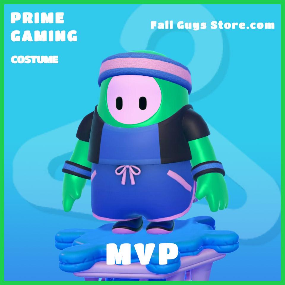 MVP Costume Fall Guys Prime Gaming Rare skin