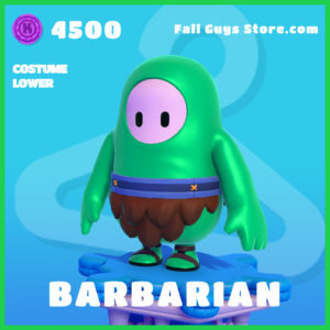 barbarian lower rare fall guys skin