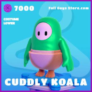 cuddly koala costume lower epic fall guys skin