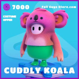 cuddly koala costume upper epic fall guys skin