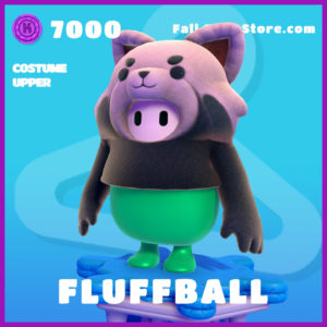 fluffball costume upper epic fall guys skin