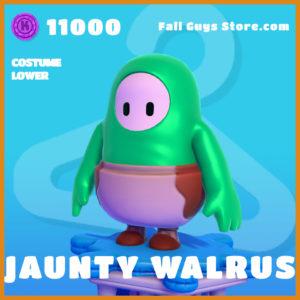 jaunty walrus costume lower legendary fall guys skin