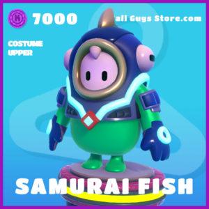 samurai fish upper epic fall guys skin