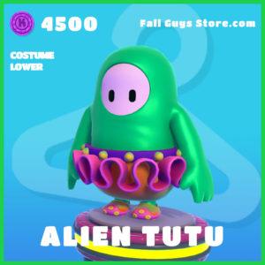 alien tutu rare costume lower fall guys skin