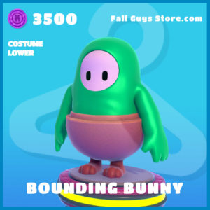 bounding bunny costume lower easter uncommon fall guys skin