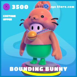 bounding bunny costume upper easter uncommon fall guys skin
