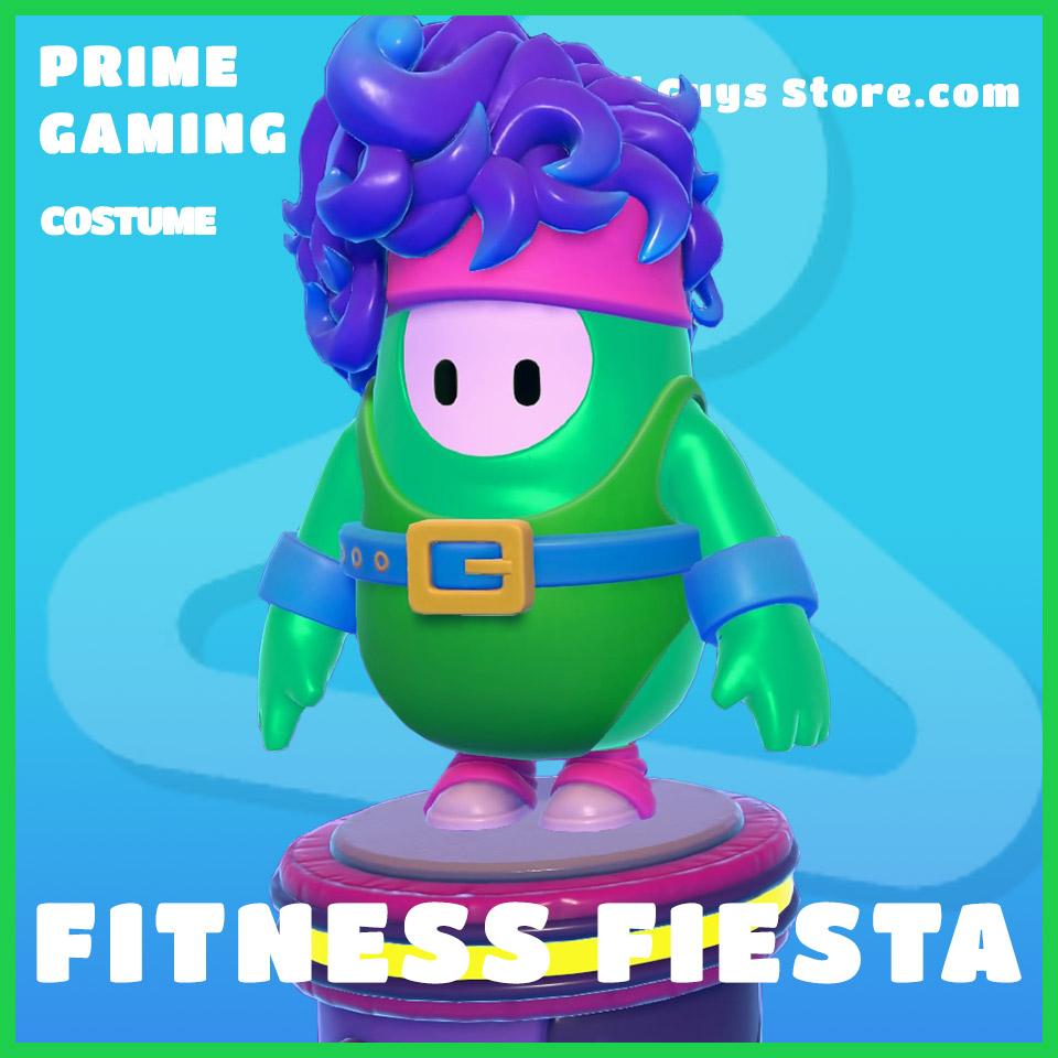fitness fiesta bundle prime gaming fall guys rare skin costume