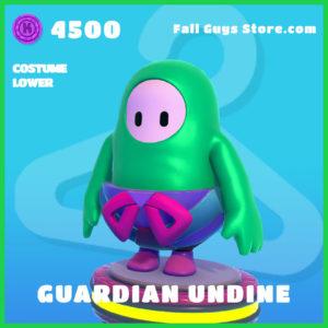 guardian undine rare costume lower fall guys skin