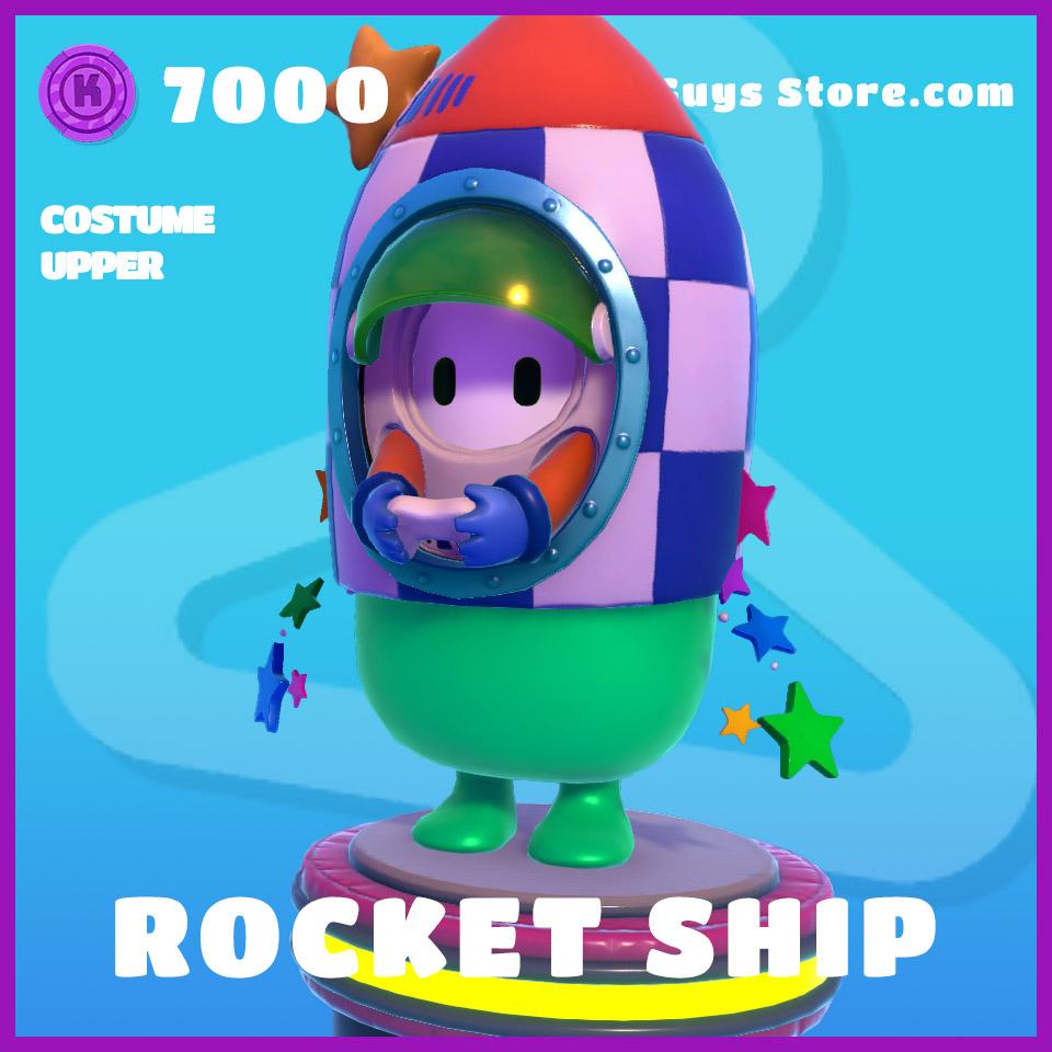 rocket ship costume epic upper fall guys skin