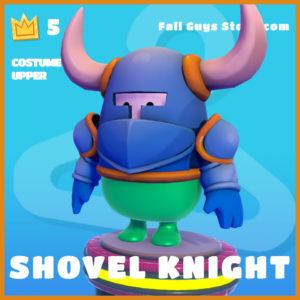 shovel knight costume upper legendary fall guys skin
